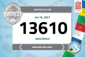 Mount Everest Race Bib