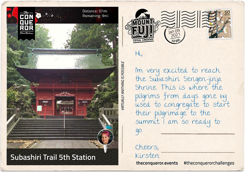 Subarishi Trail 5th Station