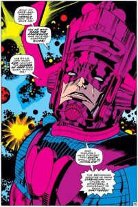 Panel from Fantastic Four, Issue 74
