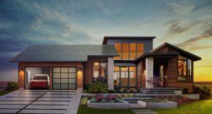 Telsa solar roof