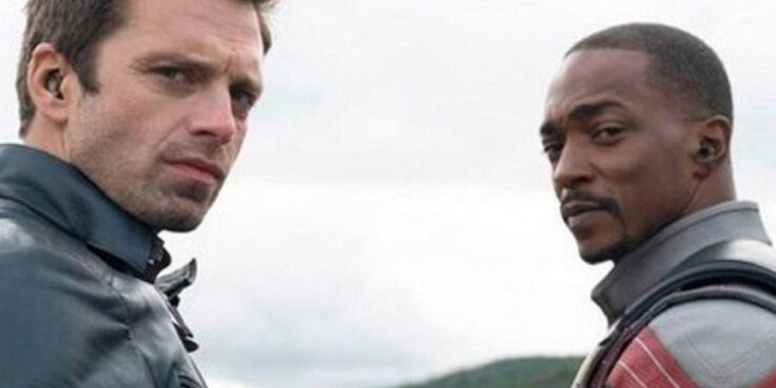 Winter Solider (Bucky Barnes) and the Falcon (Sam Wilson)