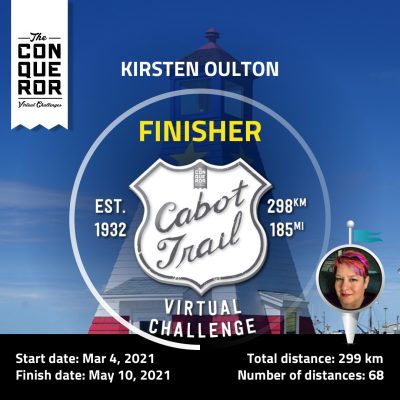 Cabot Trail - Finisher